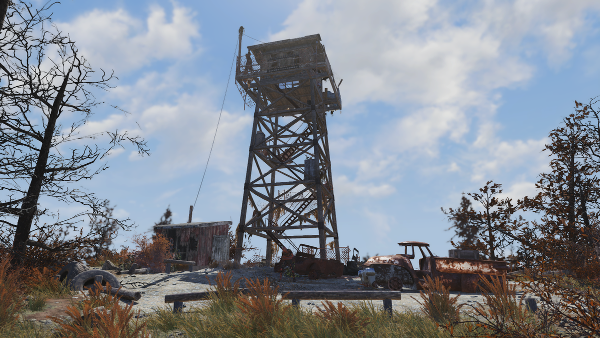 South Mountain Lookout - The Vault Fallout Wiki - Everything