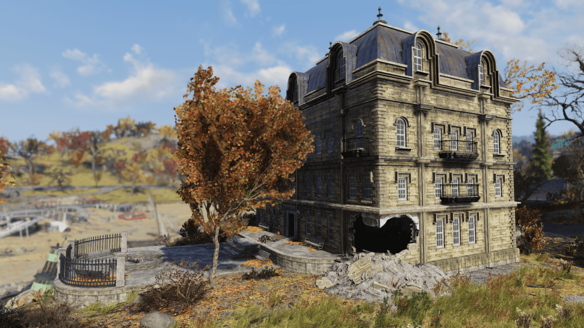 Burdette Manor - The Vault Fallout Wiki - Everything you