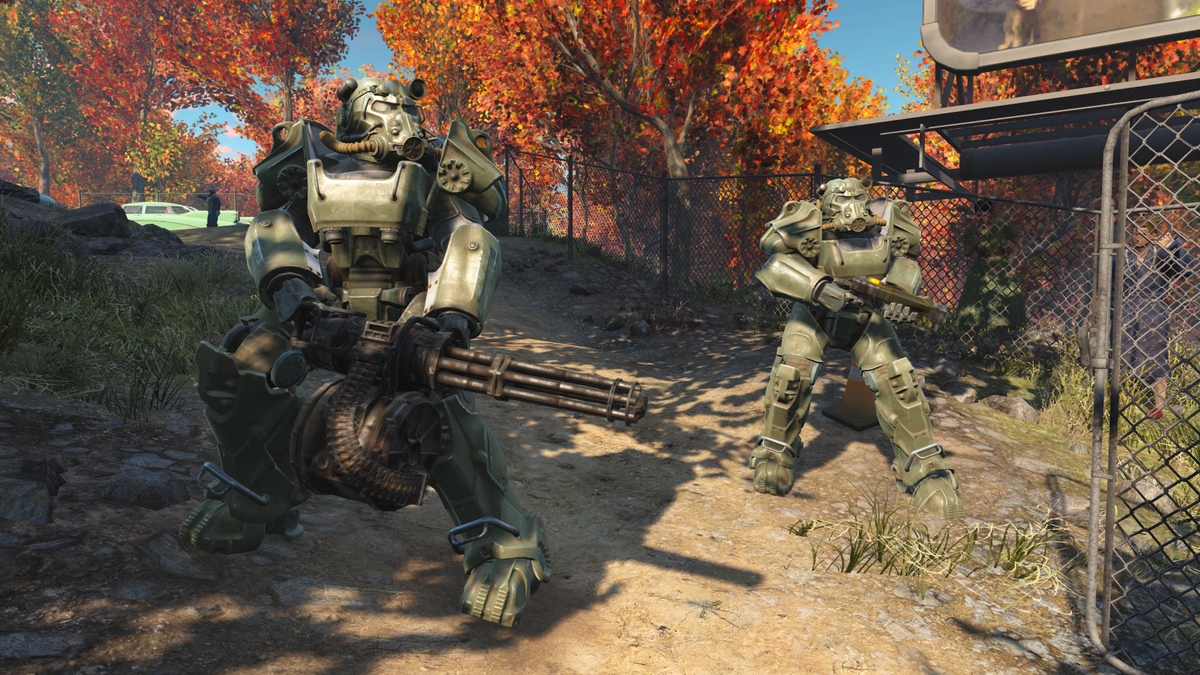 T-60 power armor (Fallout 4) - The Vault Fallout Wiki - Everything