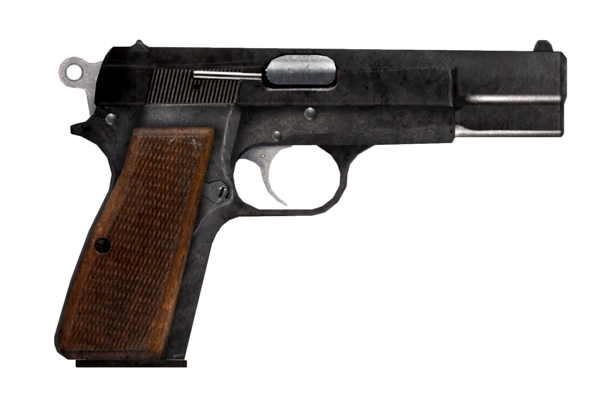 9mm Pistol Fallout New Vegas The Vault Fallout Wiki