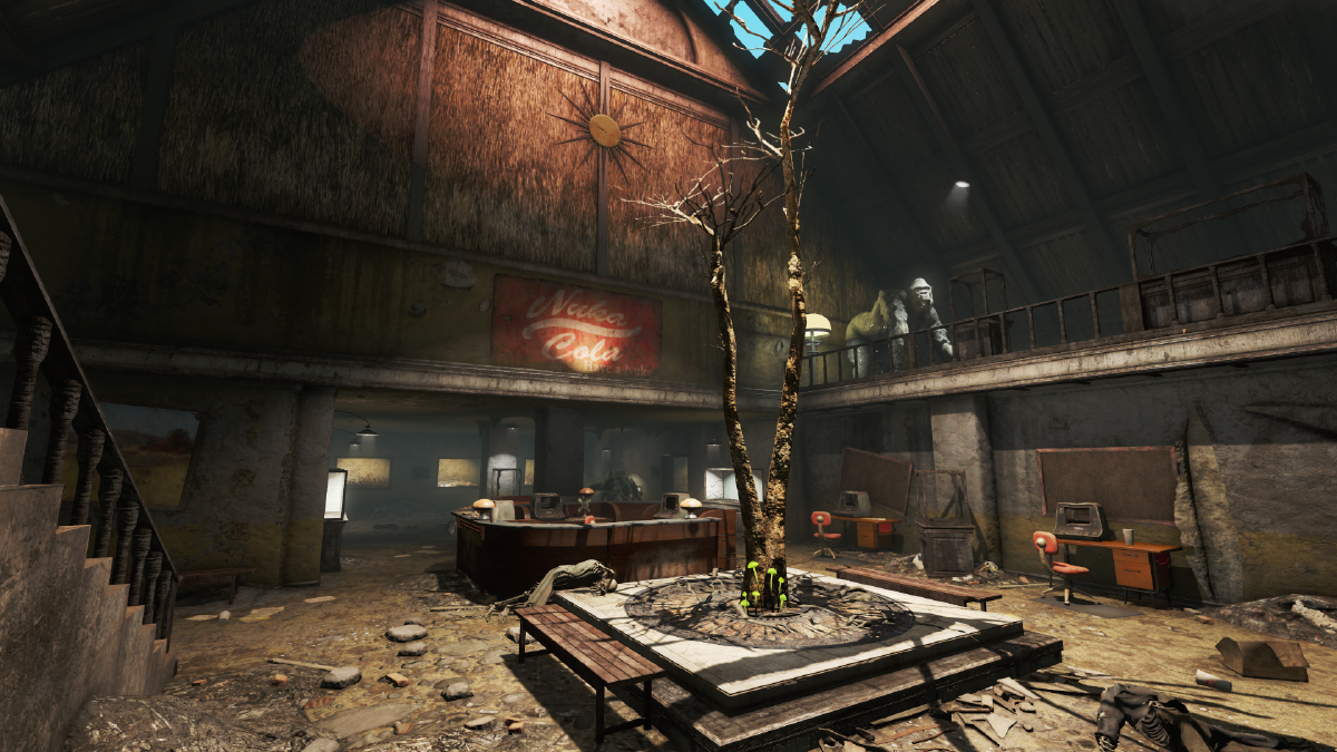 Safari Adventure Welcome Center - The Vault Fallout Wiki
