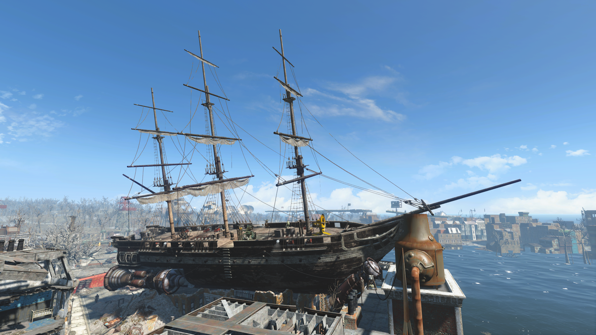 Uss Constitution The Vault Fallout Wiki Everything You