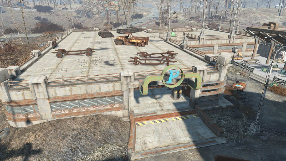 Parking Garage Lexington The Vault Fallout Wiki
