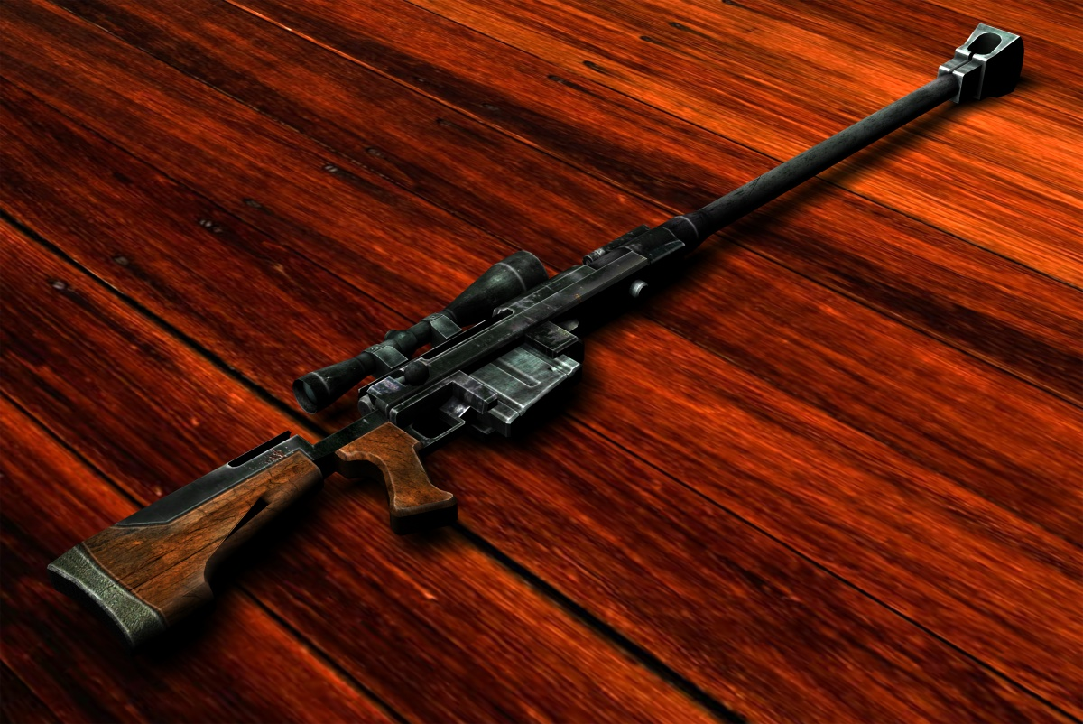 Anti Materiel Rifle anti-materiel rifle - the vault fallout wiki - everything