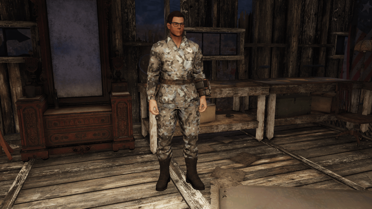 Brotherhood fatigues (Fallout 76) - The Vault Fallout Wiki