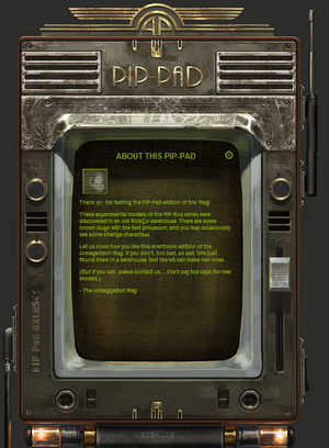 Pip-Boy - The Vault Fallout Wiki - Everything you need to