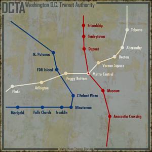 Washington, D.C. Metro - The Vault Fallout Wiki - Everything you ...