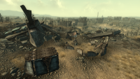 Fo3 Enclave Camp Fort Independence SW.png