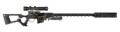 FNV sniper rifle Carbon Fiber Parts Suppressor.png