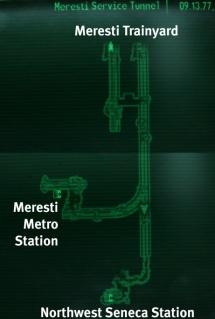 Metro Meresti Service Tunnel.jpg