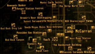 Fallout Las Vegas Map.Chance S Map The Vault Fallout Wiki Everything You Need To Know