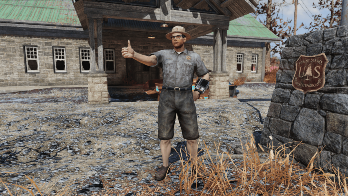 Ranger outfit (Fallout 76) - The Vault Fallout Wiki