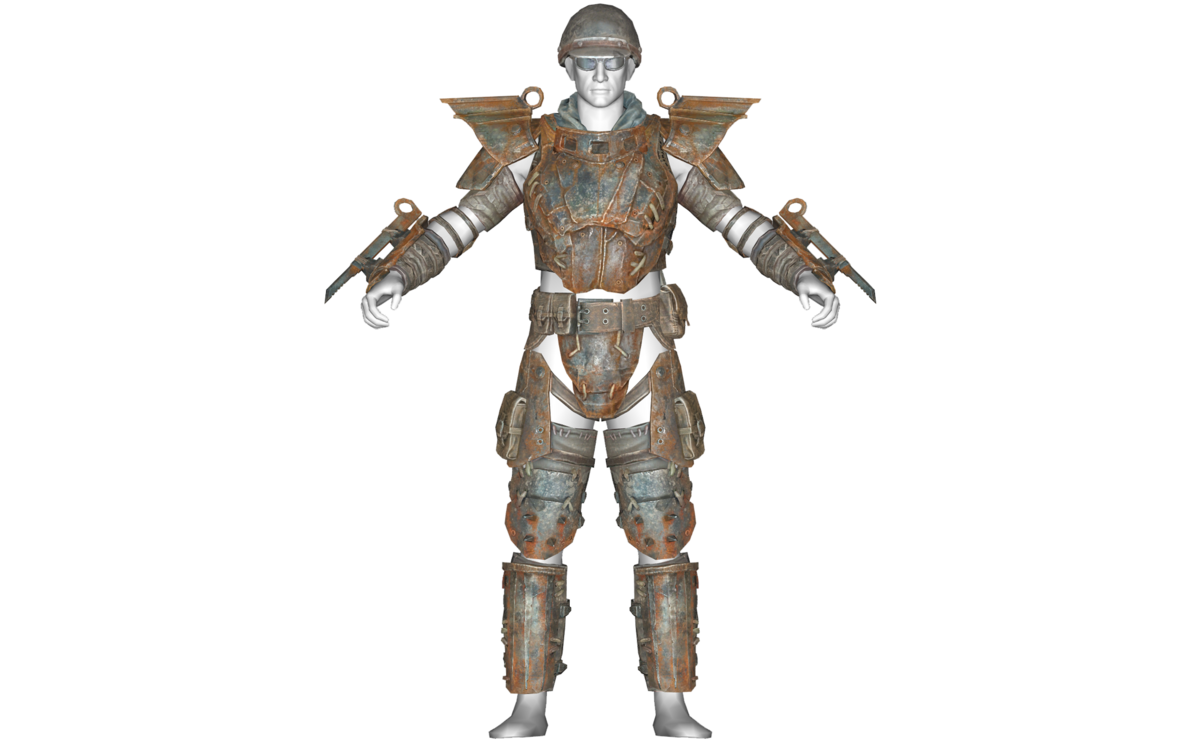 808758f2645 Heavy metal armor - The Vault Fallout Wiki - Everything you need to know  about Fallout 76