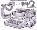 Fo3 Typewriter concept art 1.jpg