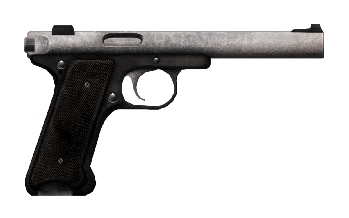 Silenced  22 pistol - The Vault Fallout Wiki - Everything