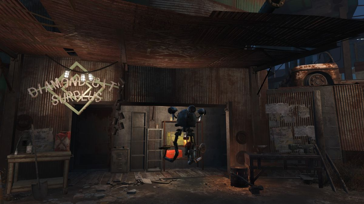 Diamond City Surplus The Vault Fallout Wiki Everything