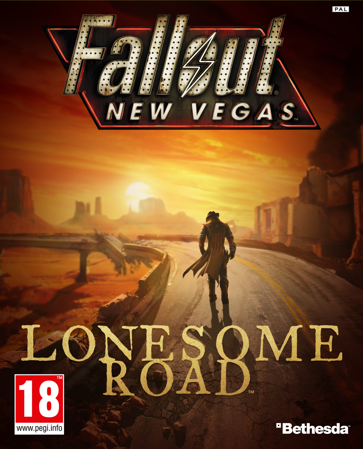 Lonesome Road (DLC) - The Vault Fallout Wiki - Everything
