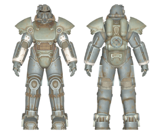 T-51 power armor (Fallout 4) - The Vault Fallout Wiki - Everything