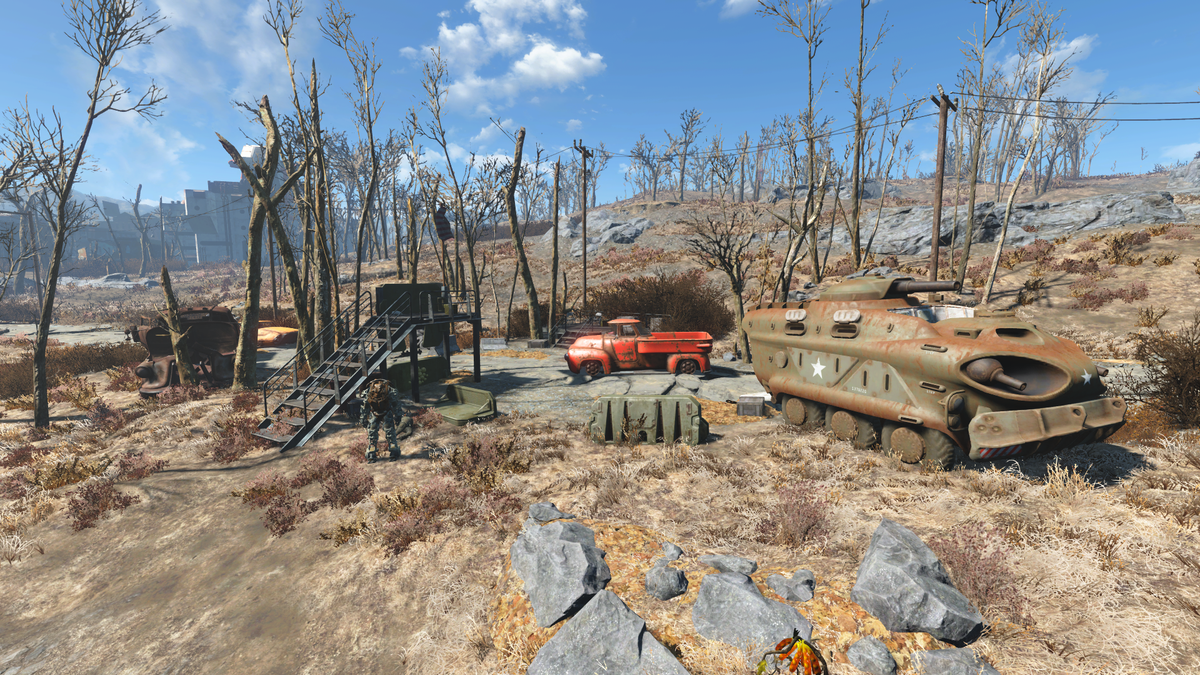Big Truck Tires >> Military checkpoint (West Roxbury) - The Vault Fallout Wiki - Everything you need to know about ...