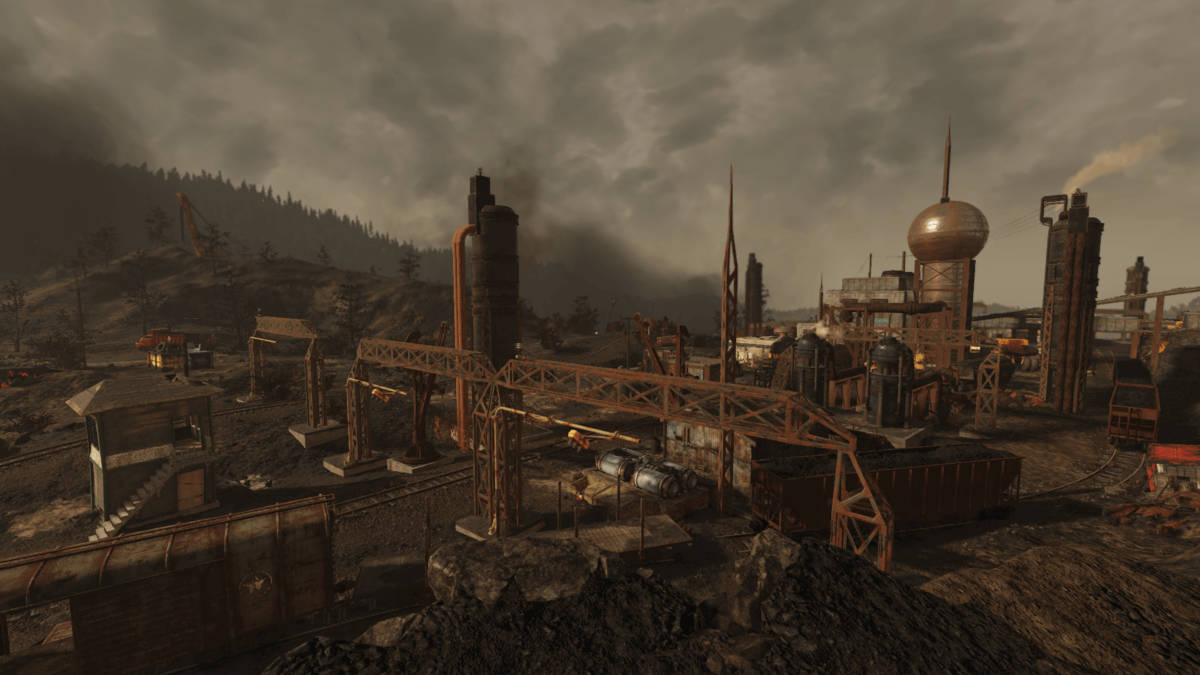 Mount Blair Trainyard The Vault Fallout Wiki Everything You Need