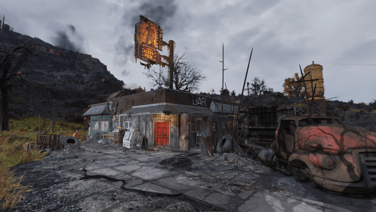 The Rusty Pick - The Vault Fallout Wiki - Everything you need to