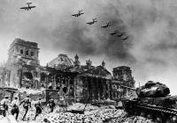 Yevgeny Khaldei - Reichstag After Fall of Berlin - 1945.jpg