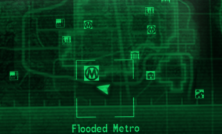 Flooded Metro Raider Camp The Vault Fallout Wiki Everything You