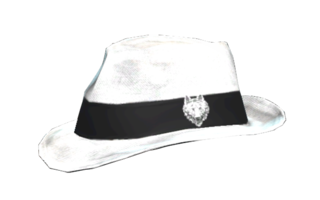 White Wolf fedora - The Vault Fallout Wiki - Everything you need to