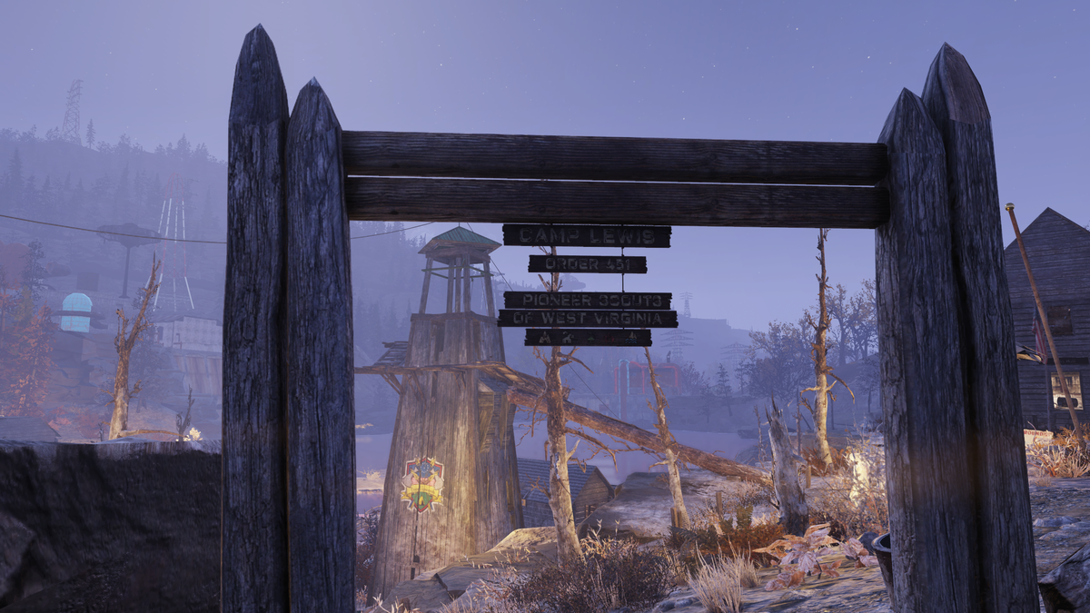 Pioneer Scout Camp - The Vault Fallout Wiki - Everything you