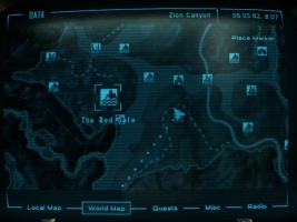 New Vegas World Map.Red Gate The Vault Fallout Wiki Everything You Need To Know