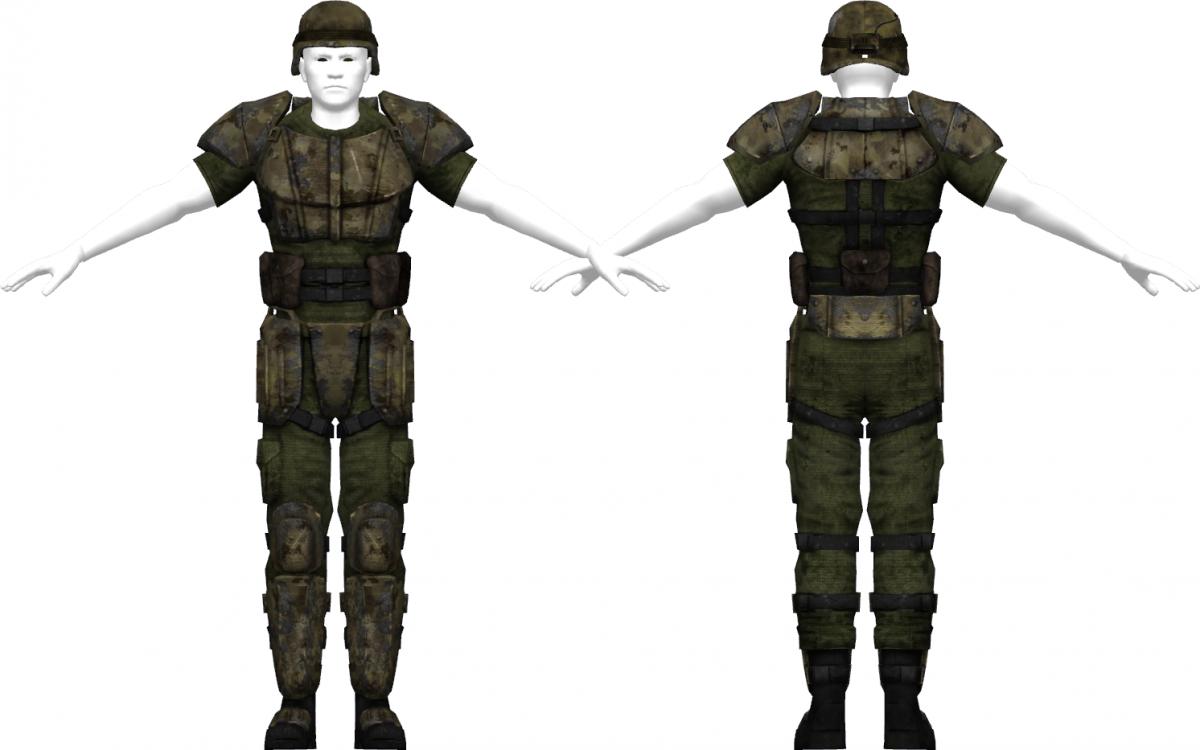 Combat Armor Fallout New Vegas The Vault Fallout Wiki