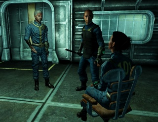 fallout 3 freezes when leaving vault 101