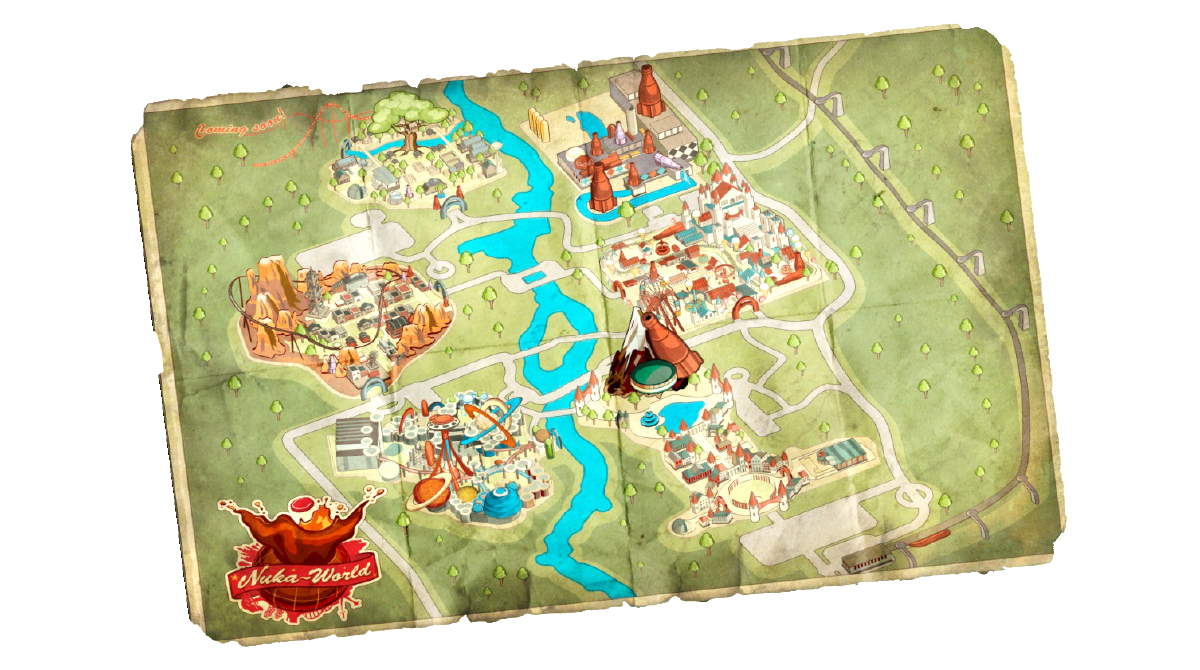 Park Map Pamphlet The Vault Fallout Wiki Everything You Need To