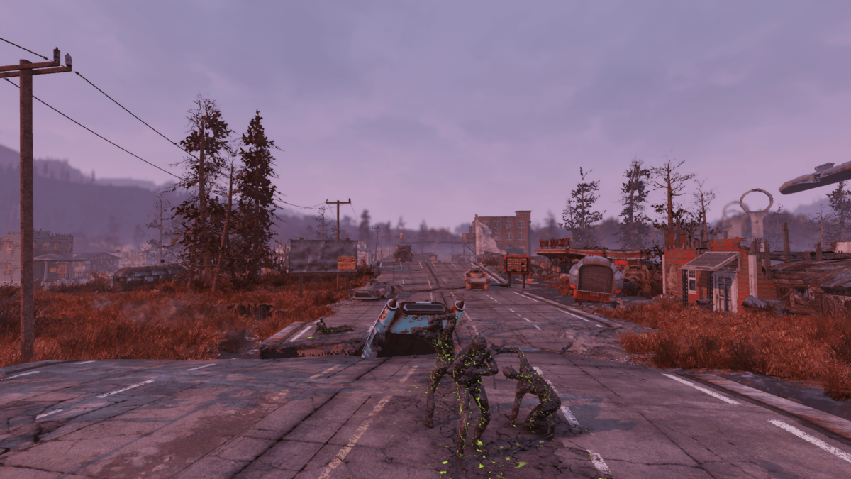 Abandoned bog town - The Vault Fallout Wiki - Everything you
