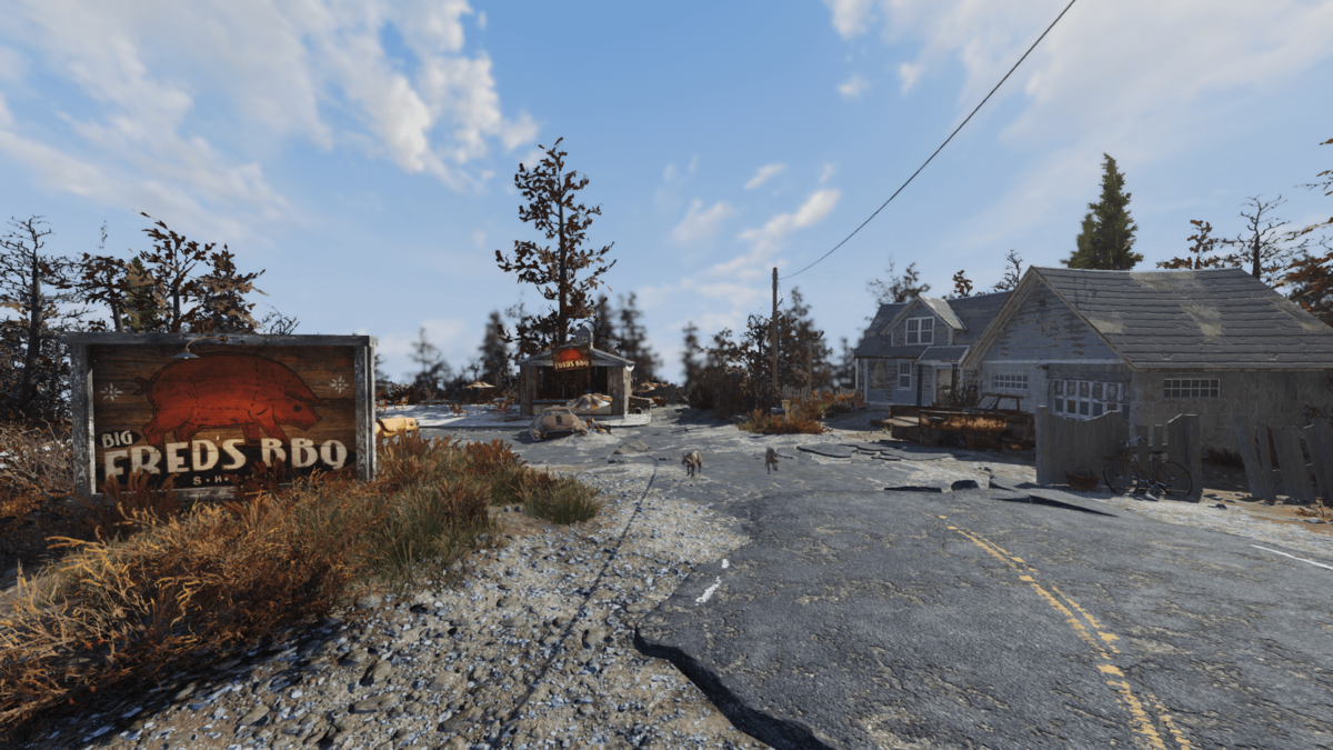 Fallout 76 Karte Deutsch.Big Fred S Bbq Shack The Vault Fallout Wiki Everything