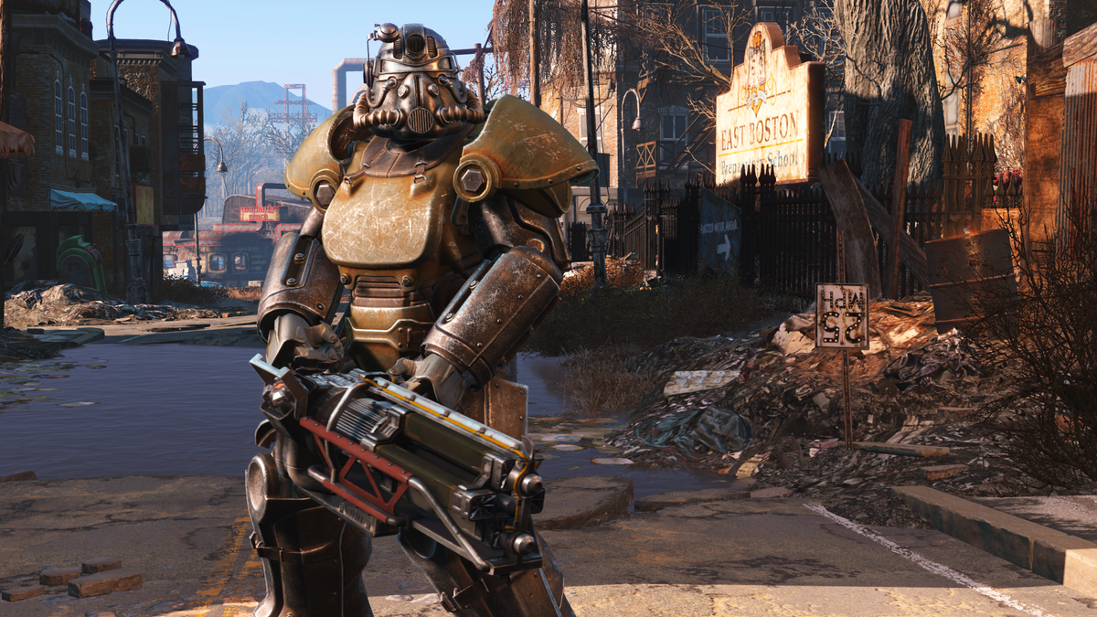 T 51 Power Armor Fallout 4 The Vault Fallout Wiki Everything