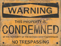 F76 Watoga Condemned Poster.png