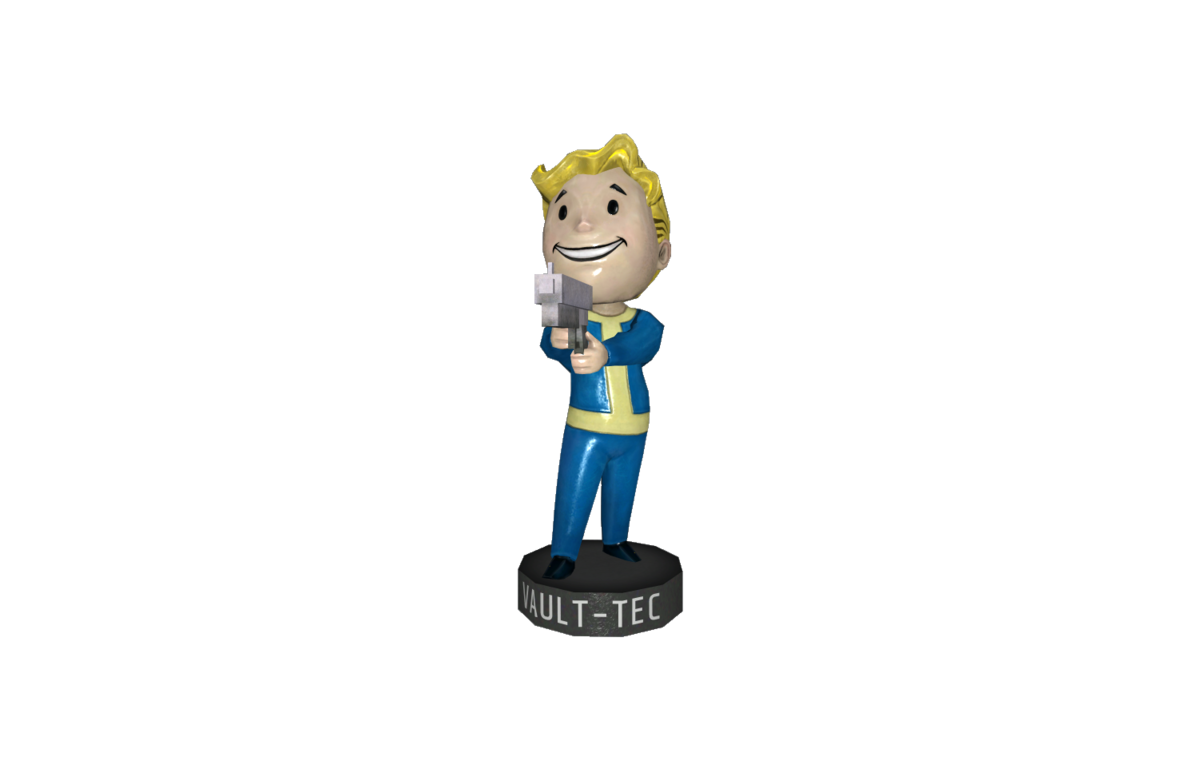 Small Guns Bobblehead Fallout 4 The Vault Fallout Wiki