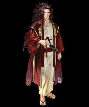 Ryoma Dancing Samurai Face.webp