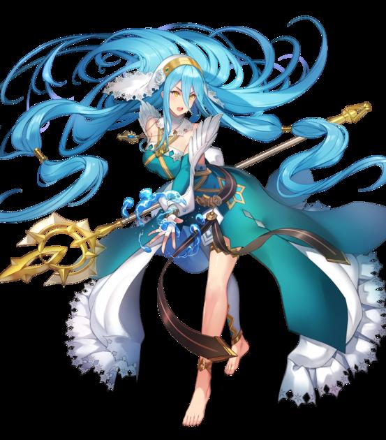 File:Azura Lady of the Lake Resplendent Face.webp - Fire