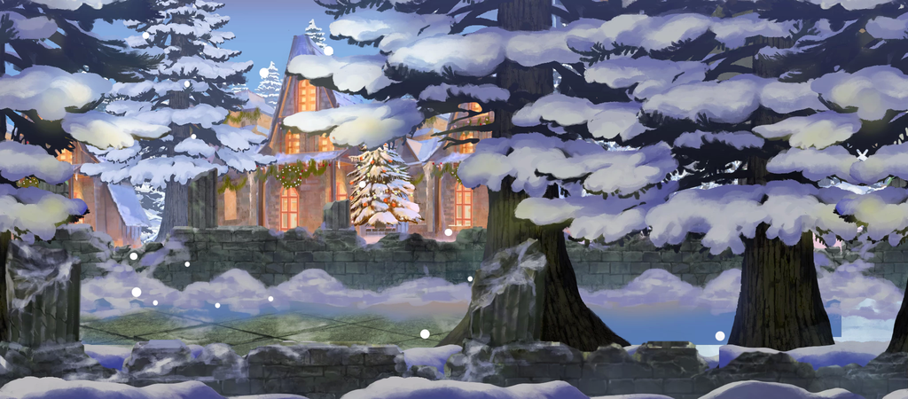 BG ChristmasForestWall.png