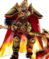 Surtr Ruler of Flame Face Smile.webp