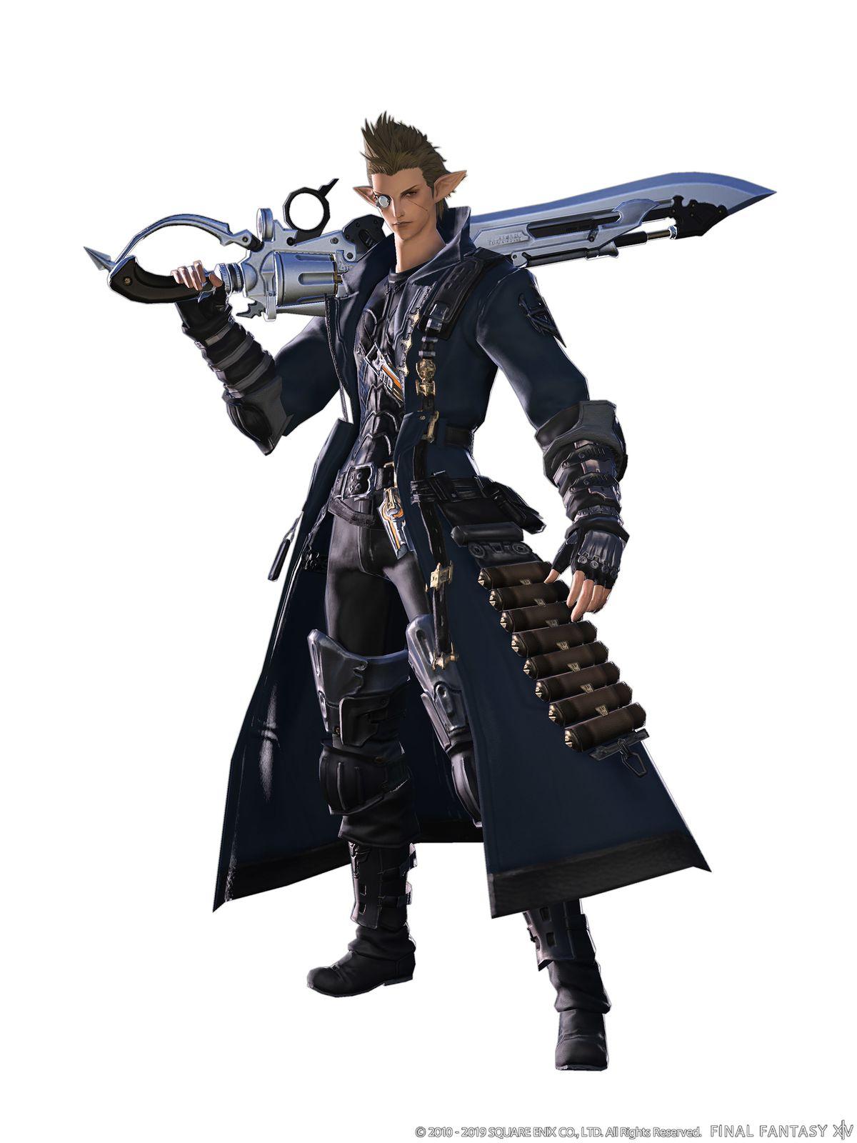 Gunbreaker - Final Fantasy XIV: A Realm Reborn (FFXIV) Wiki