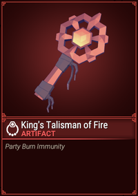 King's Talisman of Fire