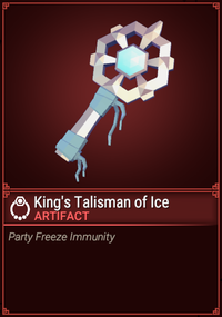 King's Talisman of Ice