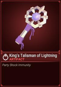 King's Talisman of Lightning