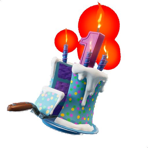 Superb Birthday Cake Back Bling Fortnite Wiki Funny Birthday Cards Online Overcheapnameinfo