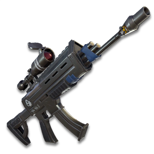 Scoped Assault Rifle Fortnite Wiki