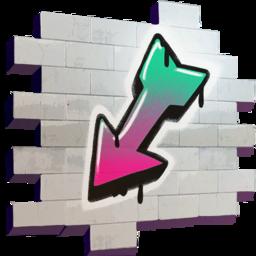 Arrow (spray) - Fortnite Wiki