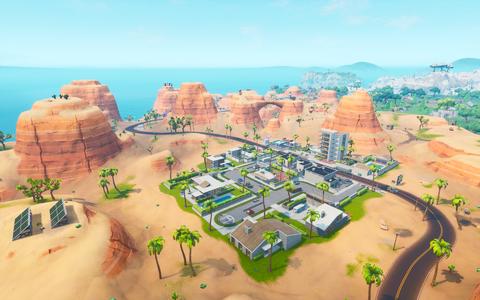 Paradise Palms - Fortnite Wiki